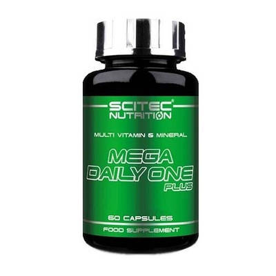 Витамины Scitec Nutrition Mega Daily One Plus (60 caps.)