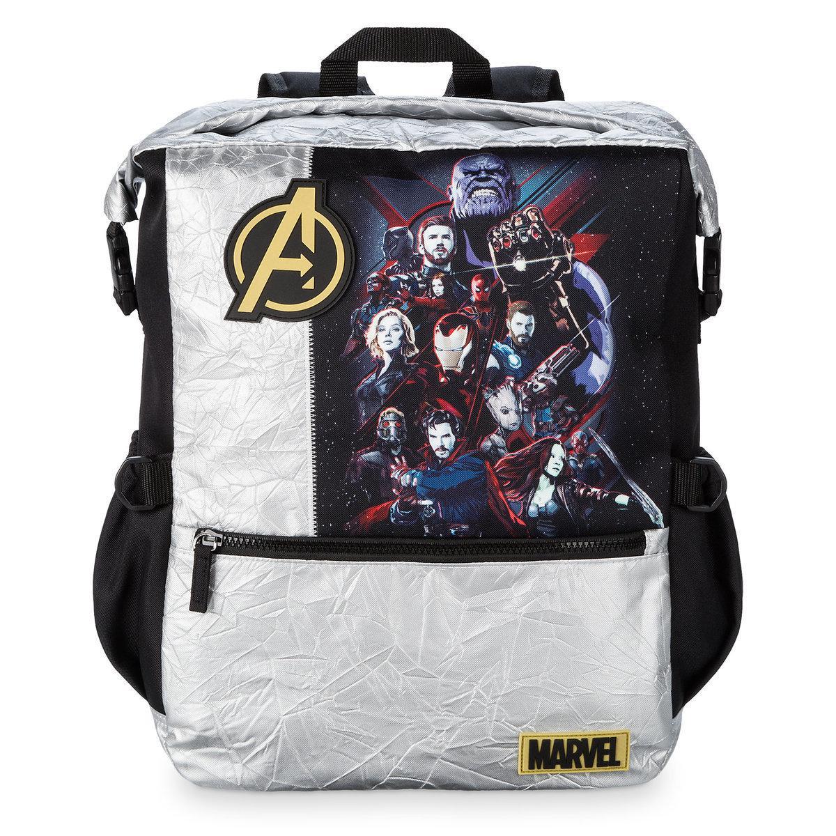 7a0be882a3ad Школьный рюкзак для мальчика Марвел/Marvel Disney оригинал серебристо-черного  цвета - happik в