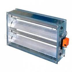 Клапаны регулирующие для прямоугольных воздуховодов