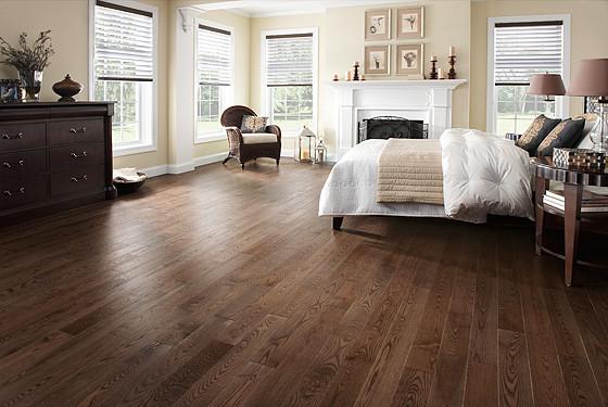 Однополосна дубова паркетна дошка Stonewood під теплу підлогу. 40 варіантів кольорів