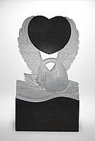 """Памятник """"Лебедь с сердцем"""""""