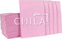 Нагрудники стоматологические, розовые (500 шт/уп) Китай