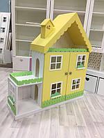Кукольный домик-стеллаж апартаменты на 6 комнат