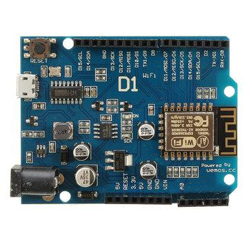 WeMos D1 WiFi плата. ESP-12F ESP8266