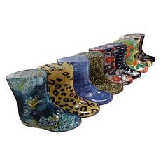 Резиновые сапоги женские Разные цвета