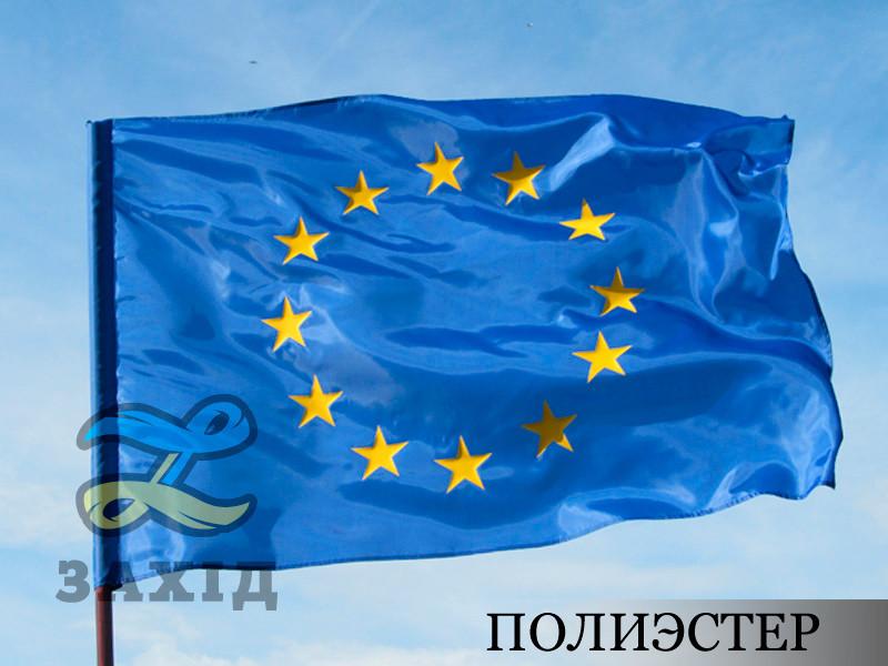 Флаг Евросоюза со звездами из термопленки