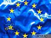 Флаг Евросоюза со звездами из термопленки, фото 3