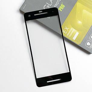 Защитное стекло Google Pixel 2 Черное, фото 2