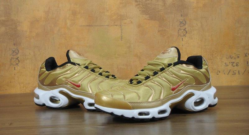 promo code 72fde ff097 Мужские кроссовки Nike Air Max 95 TN Plus Gold - Bigl.ua