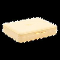 Коробка для гигиенических прокладок желтая