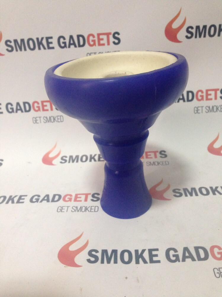 Чаша Kaya Silicone Tobacco Bowl,  Blue, синяя