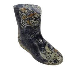Жіночі горжетки хутряні чоботи СІРИЙ АНГЕЛ