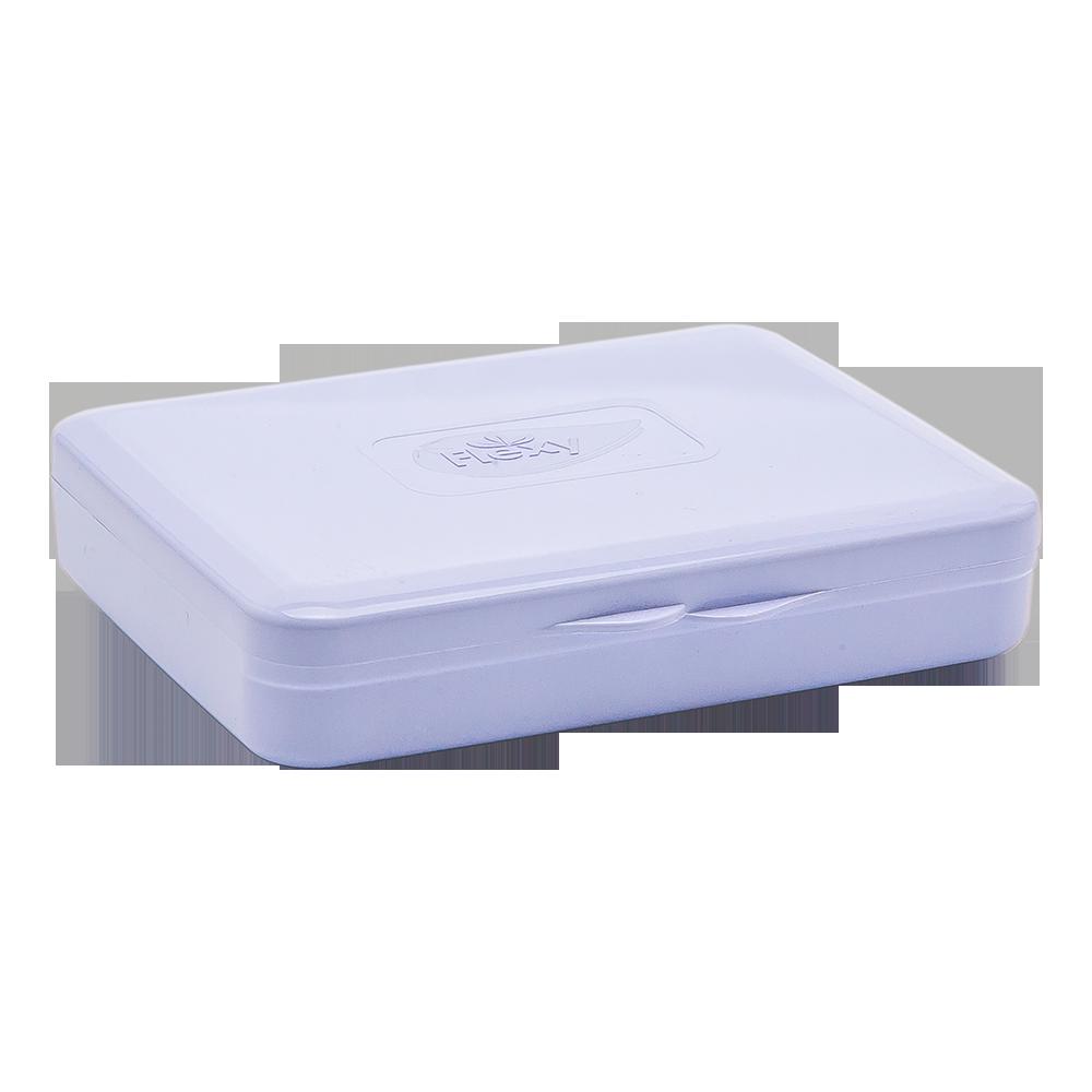 Коробка для гігієнічних прокладок бузкова
