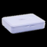 Коробка для гігієнічних прокладок бузкова, фото 1