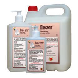 «винсепт» мыло жидкое антибактериальне с дозатором 500мл