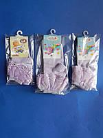 Носки (2 года) СИРЕНЕВЫЕ С РЮШЕМ для девочек  , фото 1