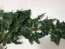 Искусственная лиана-зеленый плющ., фото 2