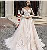 Платье свадебное Брендовые цветы