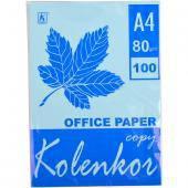 Бумага для ксерокса, А4 100 листов 80г/м² пастель , фото 1