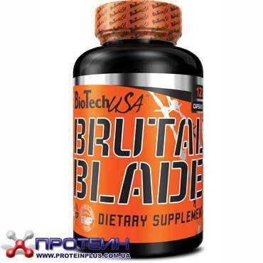 Жиросжигатель BioTech BRUTAL Blade (120 caps)