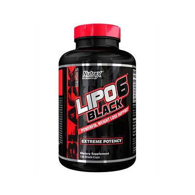 Жиросжигатель Nutrex Lipo 6 Black (120 caps)
