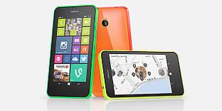 Мобильный телефон Nokia Lumia 635, 4.5'', Qualcomm Snapdragon 400 (1.2 ГГц), 512 МБ, 8 ГБ,