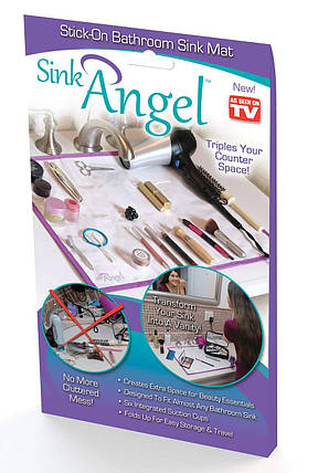Коврик на раковину Sink Angel универсальный, фото 2