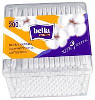 Bella. Палочки гигиенические Bella Coton, 200 шт. (400040)