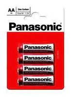 Батарейка AA Panasonic R6/4-BL (Zinc-Chloride) (1шт.)