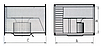 Прямоугольный канальный вентилятор для прямоугольных каналов ВКП 500x250, фото 3