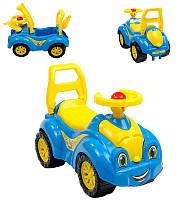 Машина-толокар 3510 (3) цвет голубой
