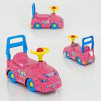 Машинка-толокар Такси 3848 (4) розовая