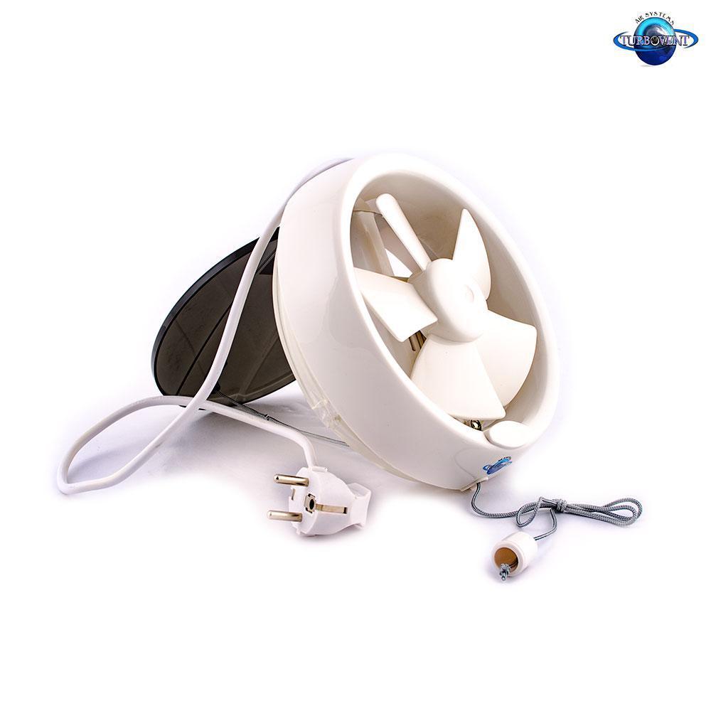 Осевой оконный (форточный) вентилятор с клапаном TM VENTILIATOR АРС 20-4-А