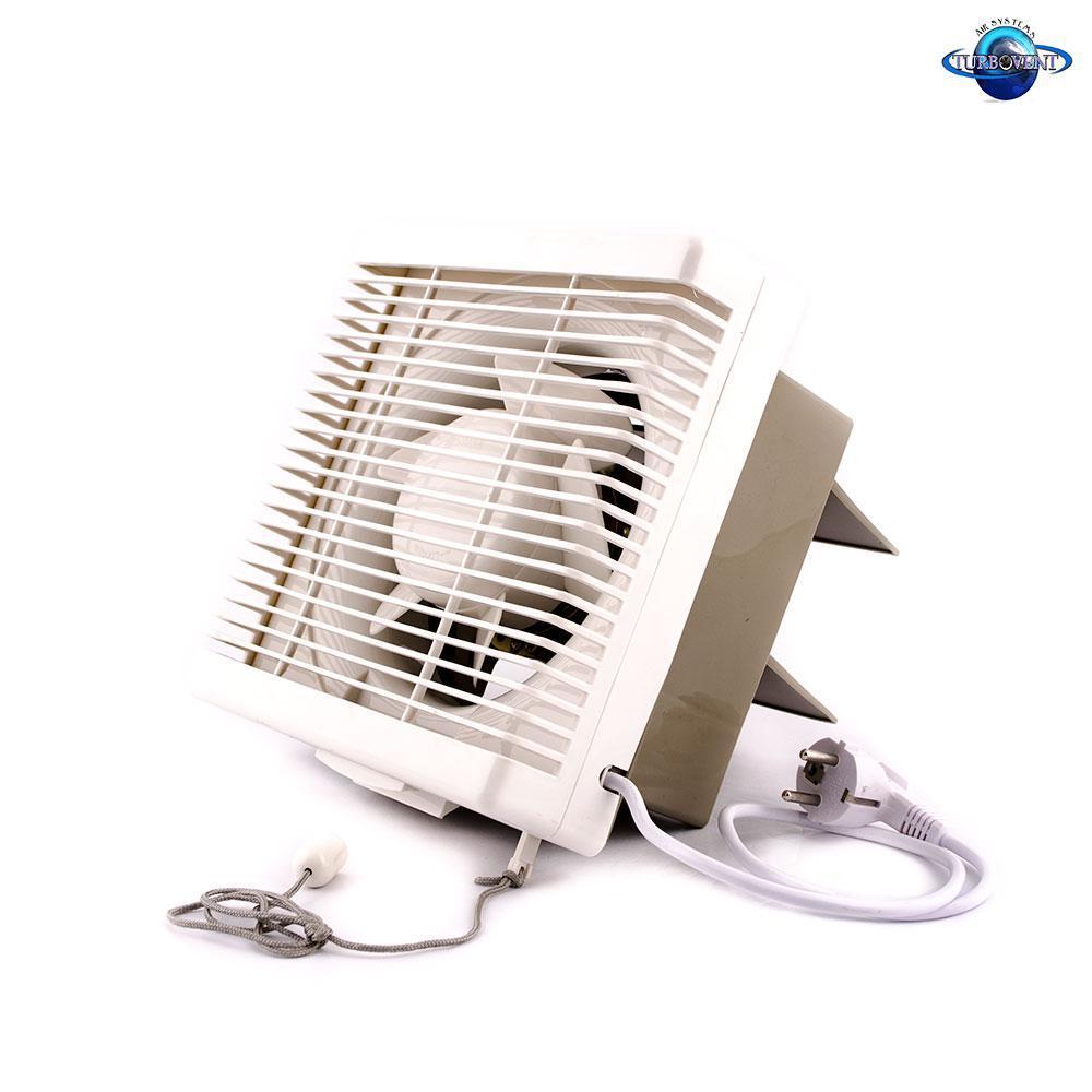 Осьовий реверсивний віконний (форточный) вентилятор TM VENTILIATOR ASB 20-4-J