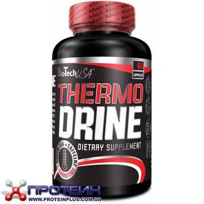 Жиросжигатель BioTech Thermo Drine Complex (60 caps)