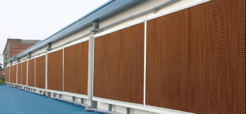 Охлаждающая водяная завеса (фибра) 150х305х1830