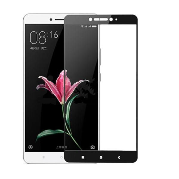 Защитное стекло дисплея Xiaomi Mi Max 2 черное (0,3 мм, 2.5D), Захисне скло дисплея Xiaomi Mi Max 2 чорне (0,3 мм, 2.5D)