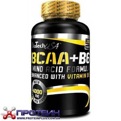 Аминокислота BCAA + B6 (200 tabs)
