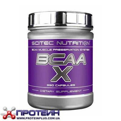 Аминокислота Scitec Nutrition BCAA-X (330 caps)