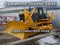 Сервис бульдозера Shantui SD32 через 1000 часов