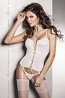 Корсет BES CORSET white Passion S/M, L/XL, XXL/XXXL