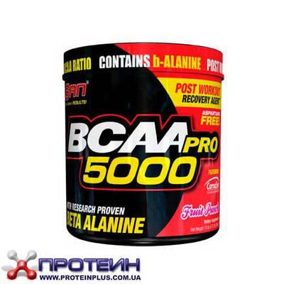 Аминокислота SAN BCAA PRO 5000 Aspartame Free (340 g)