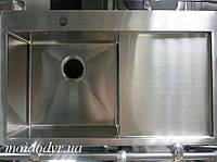 """Мойка кухонная ТМ """"МойДом"""" 480/780/200 из нержавеющей стали , фото 1"""