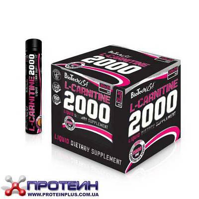 Жиросжигатель BioTech 2000 mg L-Carnitine ( 20x25 ml)