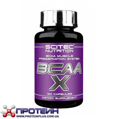 Аминокислота Scitec Nutrition BCAA-X (120 caps)