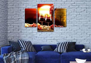 Картины для интерьера на холсте заказать в наличии и под заказ, на Холсте син., 45х70 см, (30x20-2/45x25), фото 3
