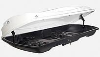 Багажный бокс на крышу автомобиля Amos Travel Pack 500 белый