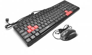 Клавиатура Merlion (KB+MS) СOMBO Red Zero, Q20 USB (5882)