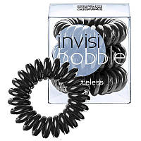 Резинка для волос черная,3 шт