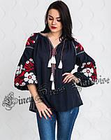 Дизайнерська вишиванка жіноча блузка (розмір 56UA RU). Модель
